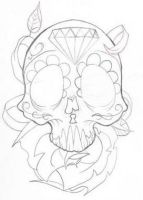Sugar Skull by deargodeverything