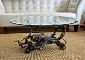 'CEPHALOPOD' Bronze octopus coffee table by bronze4u