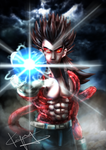 Vegeta Super Saiyan 4 by kiayt