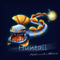 Huntail realistic
