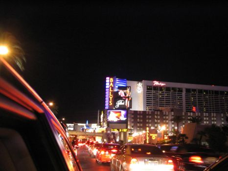 Driving on The Strip by WongKaiKo