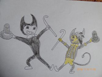 Bendy and HorsesFunn by balint2002