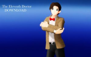 MMD The Eleventh Doctor DOWNLOAD by Ringtail14
