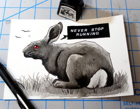 Never stop running by ShanaPatry