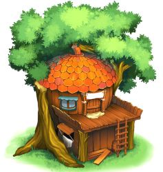 Concept Treehouse by kichigai