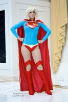 Jessica Nigri as Supergirl - New 52 Version by EnchantedCupcake