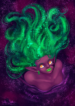 Nebula Hair by Jadiekins