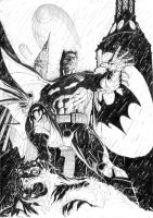 Batman by bulbpuls