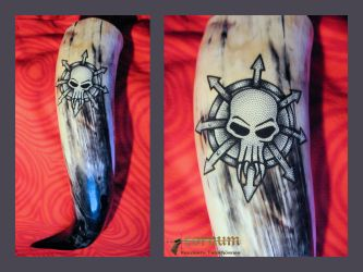 Drinking Horn CHAOS by cornum