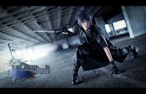 Noctis: Battle Stance by Laitz