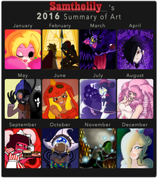 Happy ART 2016 by Samthelily