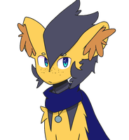 Spire the Luxio by thelanternfishisamaz