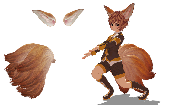 [MMD] Blade And Soul Lyn Tale and Ears DOWNLOAD by Horiew
