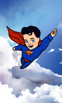 Kid Superman by Tami97a