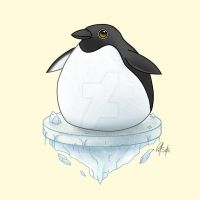 Chubby Penguin by Chicken008