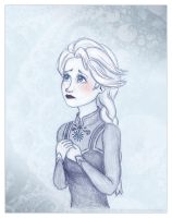 Elsa again by Lucy--C