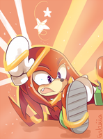 Oh Knuckles by Ipun