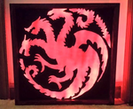 Targaryen  Dragon Final Product by The-Bagel-Guy