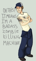 L4D2 - What does your tat mean by SuperKusoKao