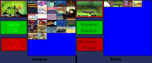 Cartoon Fighters updated stage roster+extra stages by SuperMaster10