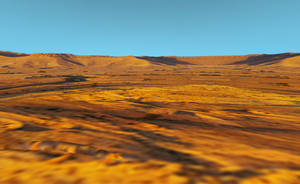 MMD open canyon stage DL by amiamy111