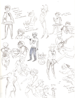 sketchbook scans by annit-the-conqueror