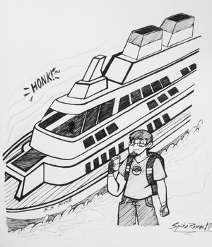 The Traveling Pokemon Ship S.S. Anne! by SpikeRamos