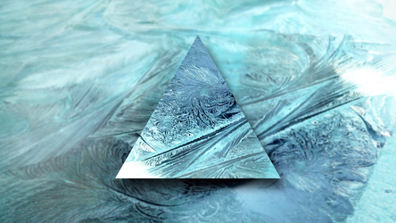 Ice Shards - 4k Desktop Wallpaper by matijadananic