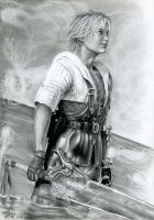 Tidus From Final Fantasy X by watracz