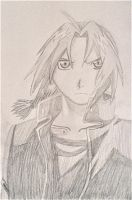 Edward Elric by RMGart