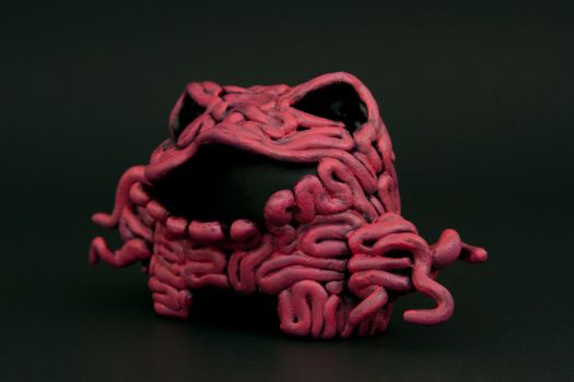 Intestine Monster 3-4th's View by karmabomb1