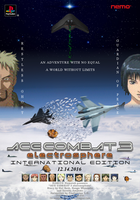 ACE COMBAT 3 electrosphere IE Original Poster v2 by DragonSpikeXIII