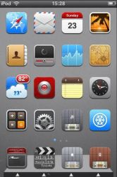 Metallic for iPhone by TaylorCohron