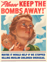 Please Keep The Bombs Away by poasterchild