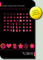 Simply Zuney Start Orb Pack by groove69