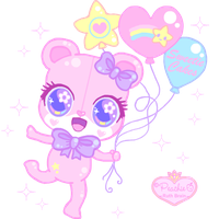 Sweetie Cakes Birthday Teddy by Princess-Peachie