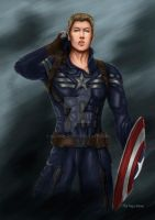 Captain America - The Avengers by Nayruyami