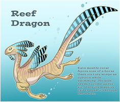 Reef Dragon by wingedwolf94
