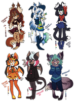 Fall Adopts 3 ( CLOSED! ) by Snorechu