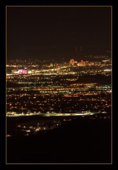 Reno at Night by kalany