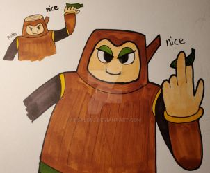 Wily Wednesdays 17: Wood Man by Bsalg93