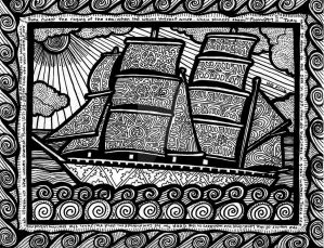 Lines of the Ship (FOR SALE) by HGCreations