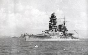 Japanese Battleship Nagato by achmedthedeadteroris