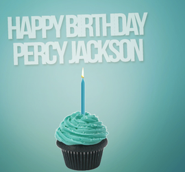 HAPPY BIRTHDAY PERCY JACKSON-WIP by Mairelyn