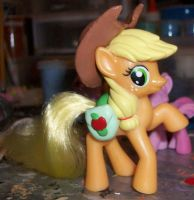 McDonald's Applejack with Hat and Saddlebags by Gryphyn-Bloodheart