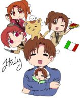 The many versions of Italy by PastaLover24