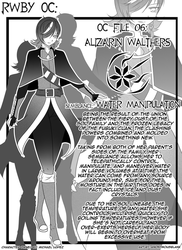 Manga Bio Page: Alizarin by AnonymousBlank