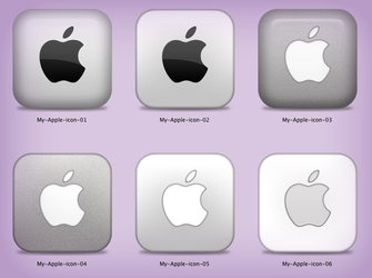 Apple icons by vladimir0523