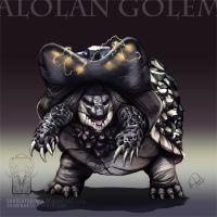Type Collab: Alolan Golem