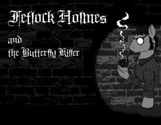 Fetlock Holmes cover art by Skunkiss